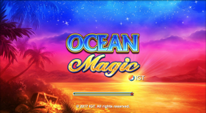 ocean magic slot opening screen