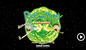 rick and morty megways slot loading screen