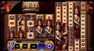 spartacus gladiator of rome slot