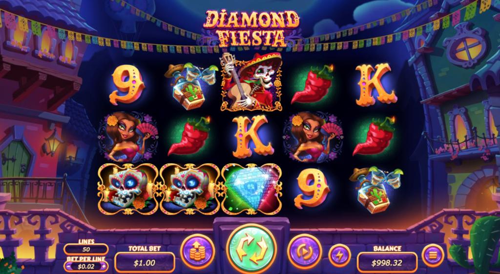 diamond fiesta gameplay