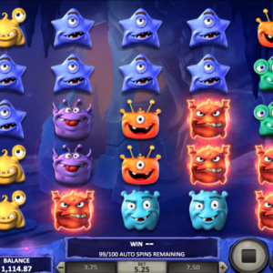 monster pop slot gameplay